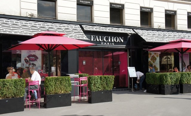 """""""In Paris you will find an iconic store famous for their delicious products. Fauchon made som eclairs for the Lacoste celebration of the 80 years of the brand."""""""