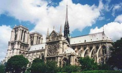 """The mighty Notre Dame Cathedral is neither the tallest, oldest nor biggest in the world, but it can rightly claim to be the best-known."" The magnificent Notre Dame Cathedral in Paris The magnificent Notre Dame Cathedral in Paris Paris Design Agenda slide 238x143"