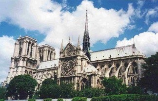"""The mighty Notre Dame Cathedral is neither the tallest, oldest nor biggest in the world, but it can rightly claim to be the best-known."" The magnificent Notre Dame Cathedral in Paris The magnificent Notre Dame Cathedral in Paris Paris Design Agenda slide 324x208"