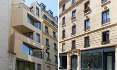 """The project of the rue Godefroy Cavaignac, in Paris, consisted in the rehabilitation of a degraded building into new social housing by h2o architectes."" 19th century building made modern by h2o architectes 19th century building made modern by h2o architectes 19th century building made modern by h2o architectes slide 238x143"