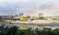"""Shigeru Ban has won an international design competition to design ""Cité Musicale,"" a new mixed-use cultural center slated for Seguin Island in Paris."" Shigeru Ban will design the 'Cite Musicale' in Paris Shigeru Ban will design the 'Cite Musicale' in Paris Paris Design Agenda Cite Musicale Paris slide 238x143"