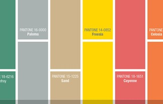 """Pantone's fashion colours selection is out already and they couldn't be more vibrant. Classy, funny and sober you have all types of colours"" Pantone's colour trends for 2014 Pantone's colour trends for 2014 Pantone colour trends 324x207"