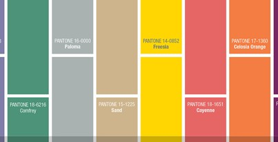 """Pantone's fashion colours selection is out already and they couldn't be more vibrant. Classy, funny and sober you have all types of colours"" Pantone's colour trends for 2014 Pantone's colour trends for 2014 Pantone colour trends 404x207"