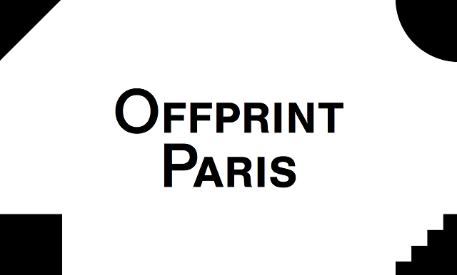 Offprint Paris is an art publishing fair for emerging practices in art. This year, it will take place from 14 to 17 November 1013. Art fair: Offprint Paris Art fair: Offprint Paris image Offprint Paris