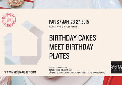 Maison & Objet Preview Maison & Objet Preview MO PARIS Jan2015 BirthdayCakes 20Anniversary print A4 horizontal 404x282