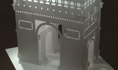 create Arc de Triomphe in origami