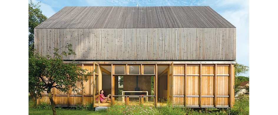 A French Eco-friendly Country House by Arba