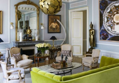 paris apartment A Sophisticated Paris Apartment For Design Lovers A Sophisticated Paris Apartment For Design Lovers 1 g 404x282