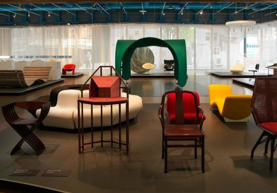 Centre Pompidou Centre Pompidou Displays Pierre Paulin's Chairs Centre Pompidou Displays Pierre Paulins Chairs 7 h 404x282