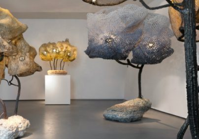 paris gallery paris gallery Nacho Carbonell Filled Paris Gallery With Giant Cocooned Lamps Nacho Carbonell Filled Paris Gallery With Giant Cocooned Lamps 404x282