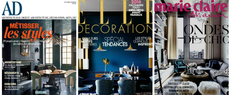 interior design magazines Top 5 French Interior Design Magazines collage