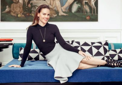 hilary swank See the New Paris Apartment of Awarded Actress Hilary Swank hillary swank 1 404x282