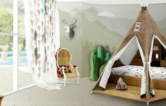 kids bedroom ideas Kids Bedroom Ideas: Teepee room by Circu Kids Bedroom Ideas Teepee room by Circu 0 324x208
