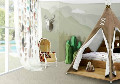 kids bedroom ideas Kids Bedroom Ideas: Teepee room by Circu Kids Bedroom Ideas Teepee room by Circu 0 404x282