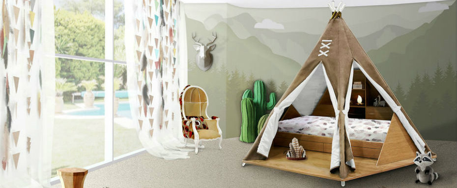 Kids Bedroom Ideas: Teepee room by Circu kids bedroom ideas Kids Bedroom Ideas: Teepee room by Circu Kids Bedroom Ideas Teepee room by Circu 0