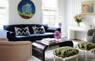 summer trends 50 Home Decorating Ideas and Summer Trends 01 Summer Thornton Wilmette Living Room 324x208