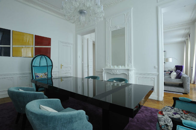 You'll Love the Interiors of this Haussmann Style Apartment in Paris apartment in paris You'll Love the Interiors of this Haussmann Style Apartment in Paris Youll Love the Interiors of this Haussmann Style Apartment in Paris 7