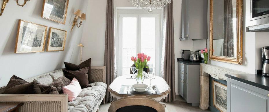 Small Paris Apartments With Amazing Interior Designs | Paris ...