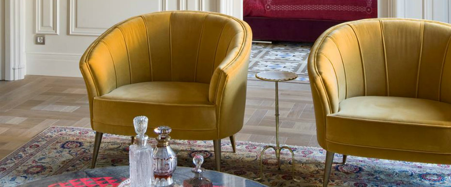 9 Contemporary Armchairs For Parisian Homes