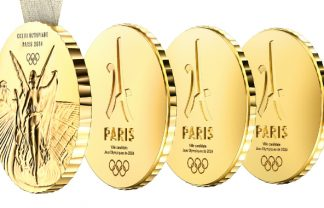 2024 summer olympics 2024 Summer Olympics' Innovative Medals Designed by Philippe Starck featured 10 324x208