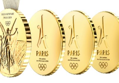 2024 summer olympics 2024 Summer Olympics' Innovative Medals Designed by Philippe Starck featured 10 404x282