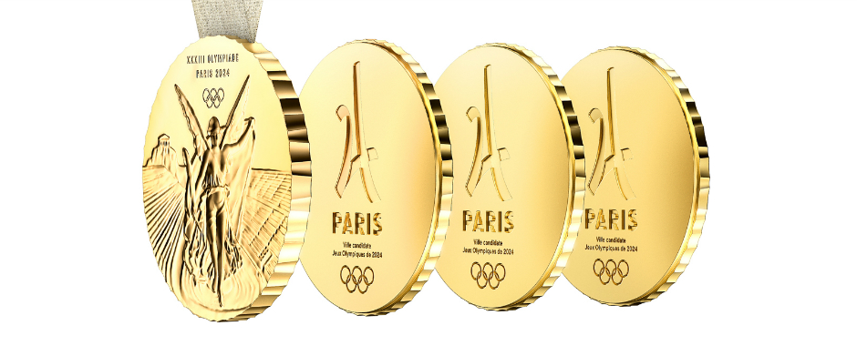 2024 Summer Olympics' Innovative Medals Designed by Philippe Starck 2024 summer olympics 2024 Summer Olympics' Innovative Medals Designed by Philippe Starck featured 10