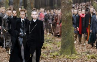 Paris Fashion Week Paris Fashion Week: It's a Forest Runaway for the Chanel Fall Show 2018 featured 1 324x208
