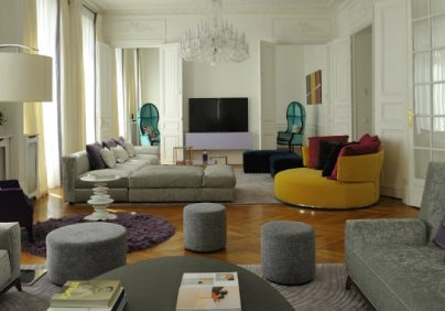 interior design projects Interior Design Projects: Arty Chic Appartment in Paris by PFB Design 1 2 404x282