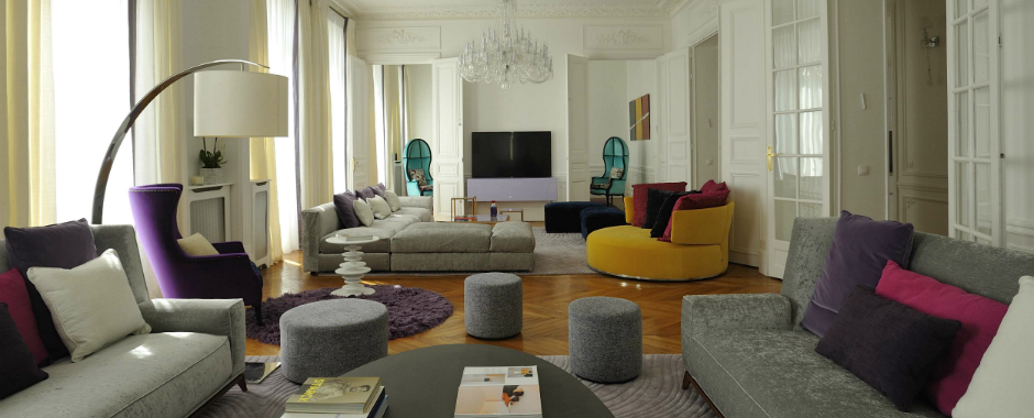 Interior Design Projects: Arty Chic Appartment in Paris by PFB Design interior design projects Interior Design Projects: Arty Chic Appartment in Paris by PFB Design 1 2