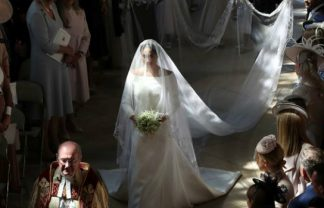 royal wedding Meghan Markle Wore a Refined Givenchy Dress for the Royal Wedding featured 9 324x208