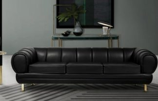 Black Leather Sofas Enhance Your Living Room Decor with Outstanding Black Leather Sofas featured1 324x208