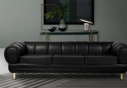 Black Leather Sofas Enhance Your Living Room Decor with Outstanding Black Leather Sofas featured1 404x282