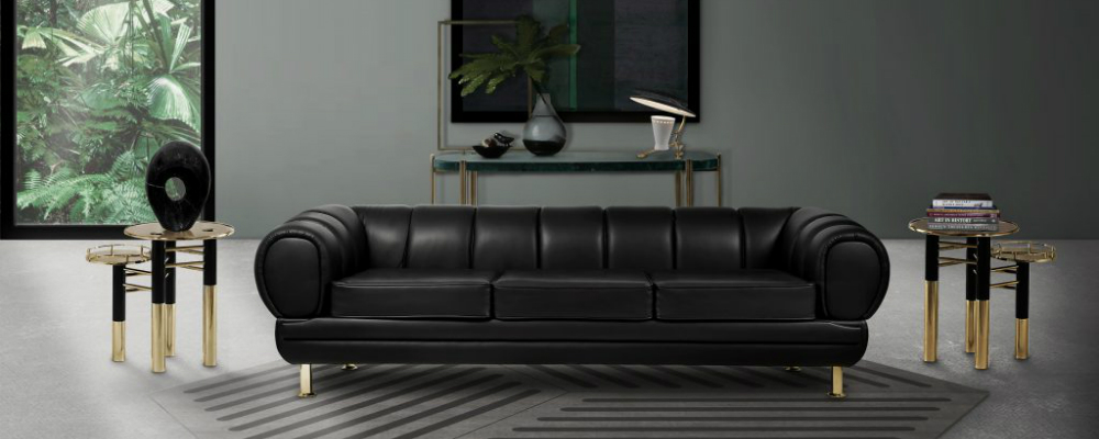 Black Leather Sofas Enhance Your Living Room Decor with Outstanding Black Leather Sofas featured1