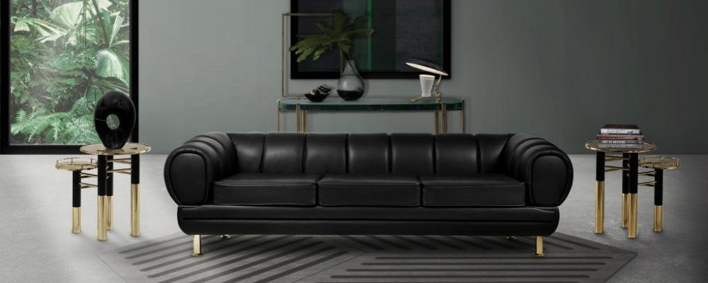 Decorating Living Room With Black Leather Furniture  from www.parisdesignagenda.com