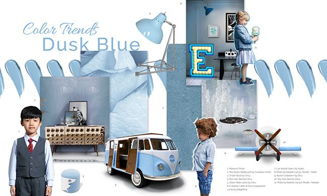 Dusk Blue Trend And Its Amazing Home Décor Ideas dusk blue Dusk Blue Trend And Its Amazing Home Décor Ideas Color Trends 2019 Get Ready For Summer With Dusk Blue 1 650x390