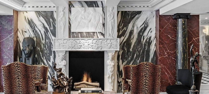 Fall In Love With The Sophisticated Fireplaces In These Paris Hotels fireplaces Fall In Love With The Sophisticated Fireplaces In These Paris Hotels Berri 870x390