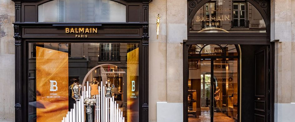 Behold The New Concept On Balmain's Paris Flagship Store balmain Behold The New Concept On Balmain's Paris Flagship Store balmain paris new flagship store 07 944x390