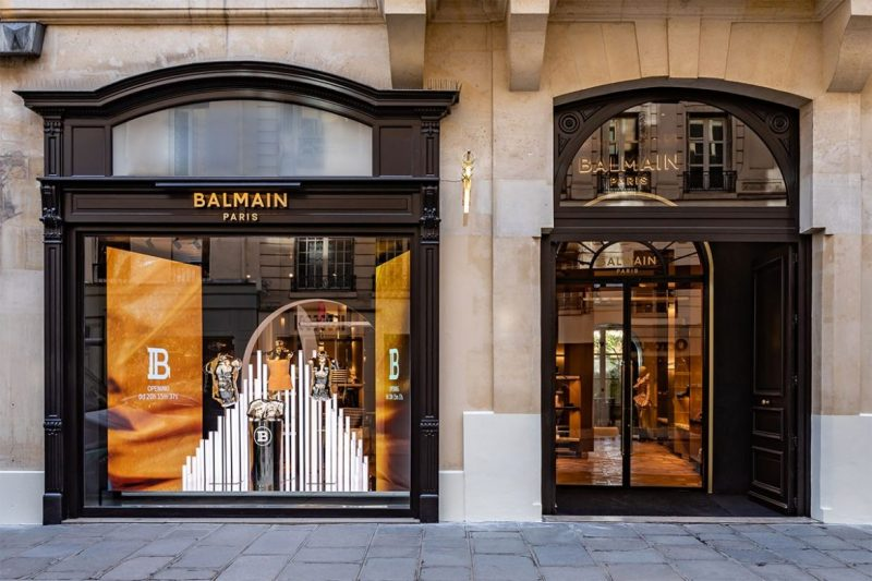 Behold The New Concept On Balmain's Paris Flagship Store balmain Behold The New Concept On Balmain's Paris Flagship Store balmain paris new flagship store 07 e1557220190652