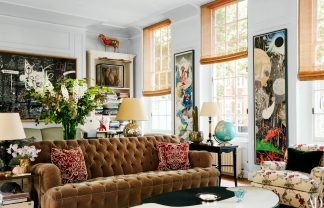Observe This Historic London Townhouse From Jacques Grange jacques grange Observe This Historic London Townhouse From Jacques Grange 1217 AD GRAN04 01 sq 324x208