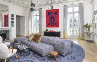 Discover Top 10 French Interior Designers Based in Paris - Part III french interior designers Discover Top 10 French Interior Designers Based in Paris – Part III Rodolphe Parente Appartement Trocadero 02 324x208