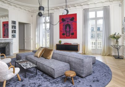 Discover Top 10 French Interior Designers Based in Paris - Part III french interior designers Discover Top 10 French Interior Designers Based in Paris – Part III Rodolphe Parente Appartement Trocadero 02 404x282