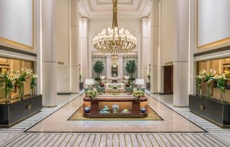 Discover The Most Fabulous Top 20 Interior Designers Based in Paris top 20 interior designers Discover Fabulous Top 20 Interior Designers Based in Paris – Part I thumbs pierre yves rochon waldorf astoria beverly hills lobby 02