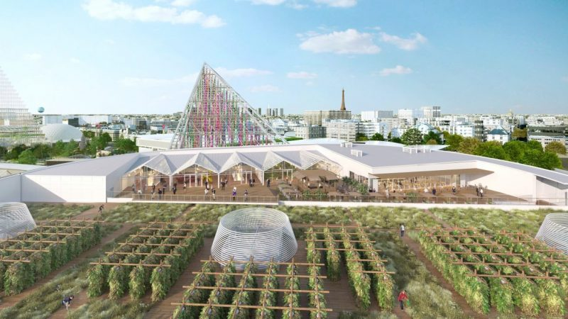 valode and pistre Valode And Pistre Will Create The World's Largest Farm In Paris Valode And Pistre Will Create The Worlds Largest Farm In Paris 4 e1571758520309