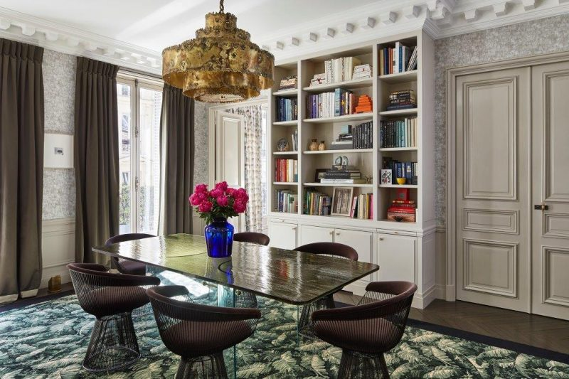champeau and wilde Champeau And Wilde Designed A Classical Apartment In Paris Champeau And Wilde Designed A Classical Apartment In Paris 24 e1574329128664