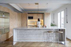 Toledano + Architects Fascinates On A Beautiful Apartment In Paris