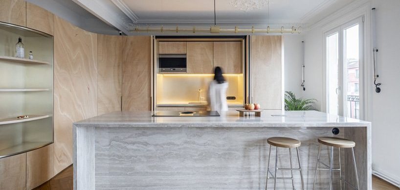 Toledano + Architects Fascinates On A Beautiful Apartment In Paris toledano + architects Toledano + Architects Fascinates On A Beautiful Apartment In Paris Toledano Architects Fascinates On A Beautiful Apartment In Paris 3 818x390