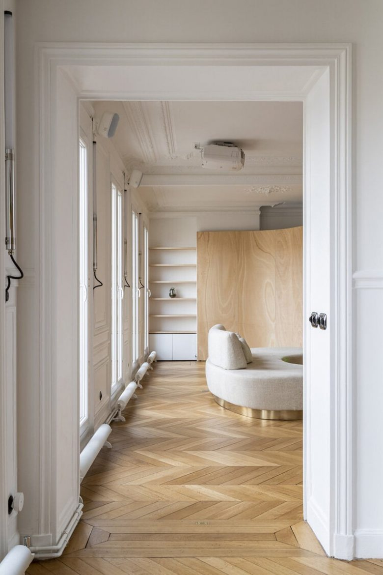 toledano + architects Toledano + Architects Fascinates On A Beautiful Apartment In Paris Toledano Architects Fascinates On A Beautiful Apartment In Paris 5 scaled