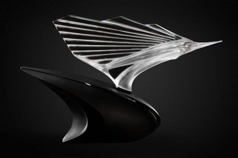 lalique Admire The Brand New Collections Of Lalique! BD 10710600   McLaren Sailfish Sculpture black background  LALIQUE SA2 scaled e1583936497944