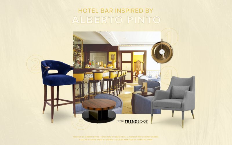 alberto pinto studio Fall In Love With A Hotel Bar Inspired By Alberto Pinto Studio! Fall In Love With A Hotel Bar Inspired By Alberto Pinto Studio
