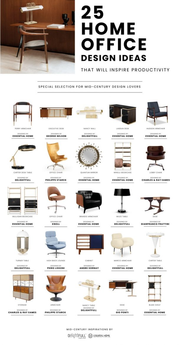 mid-century furniture Be Inspired By Mid-Century Furniture For Your Office! Be Inspired By Mid Century Furniture For Your Office scaled